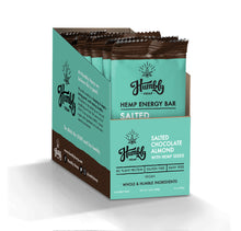 Hemp Energy Bar - Salted Almond Chocolate (10 Bar Box)