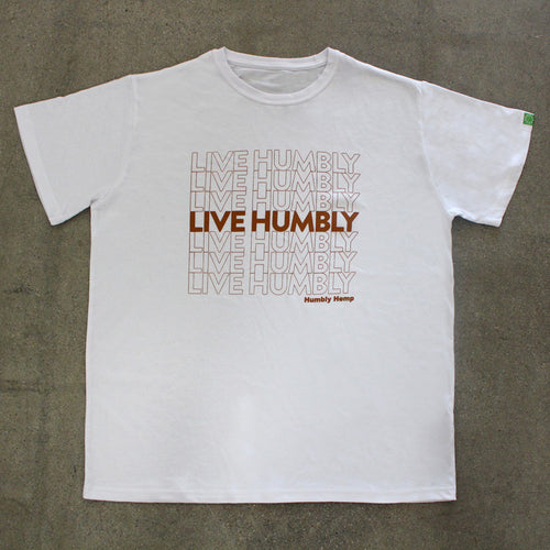 Live Humbly - Men's Hemp T-Shirt