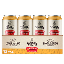 Hemp Sparkling Tea - Peach Mango (12 Pack Case)