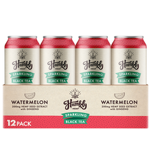 Hemp Sparkling Tea - Watermelon (12 Pack Case)