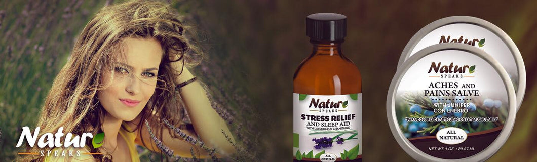Nature Speaks, all natural products with Lavender and Juniper