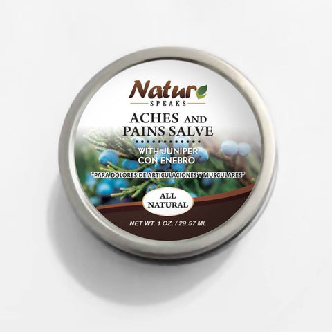 Nature Speaks LLC, Salve for muscle pain and bruises