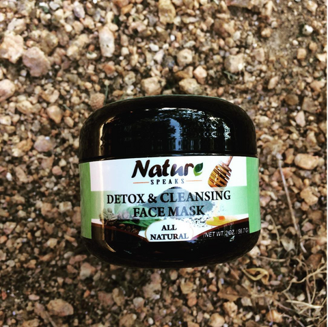 Nature Speaks LLC, Detox & Cleansing Face Mask in Natural Setting