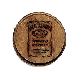 Jack Daniel's Barrel Head Engraving