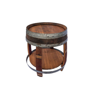 Remarkable Wine Barrel Side Table Download Free Architecture Designs Scobabritishbridgeorg