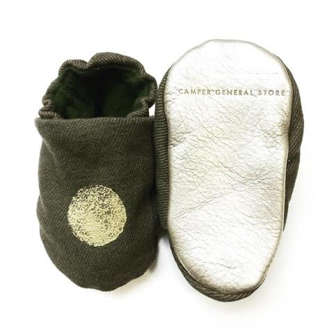 military mocs silver sole
