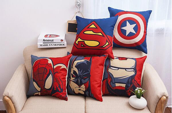 Superhero Movie Poster Cushion Covers 45*45cm
