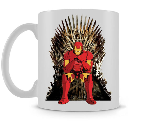 Game of Thrones meets Ironman Coffee Mugs