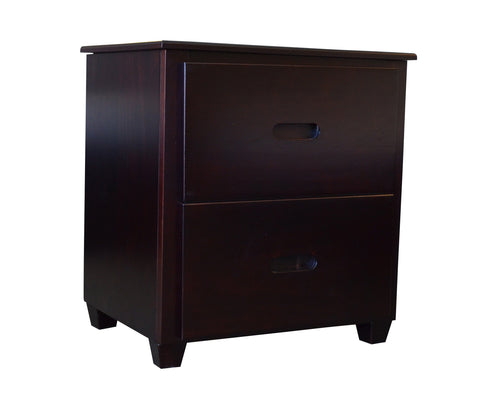 Fraser Espresso Two Drawer Nightstand