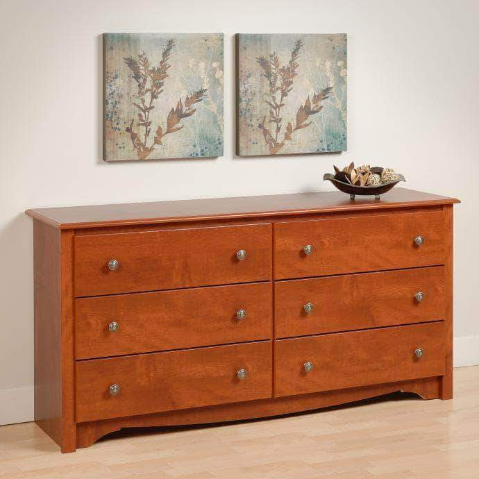 Cherry-Monterey-6-Drawer-Dresser