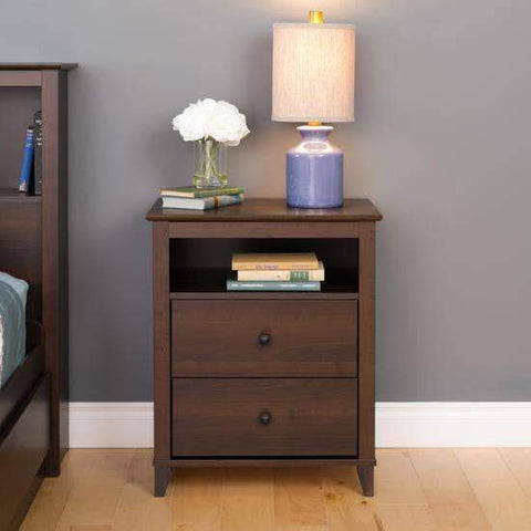 Yaletown-2-Drawer-Tall-Nightstand-Espresso