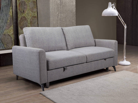 Kensington Sleeper Sofa Bed Loveseat in Solis Grey