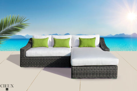 Marseille Patio Sectional with Chaise