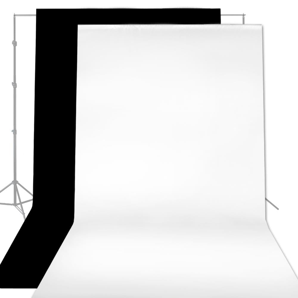 6 x 9 Ft Black & White Screen Backdrops Photo Studio Background Lusana Studio