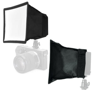 "New 6""x6.7""/15x17cm Camera Collapsible Diffuser Mini Softbox For LED Video Light"