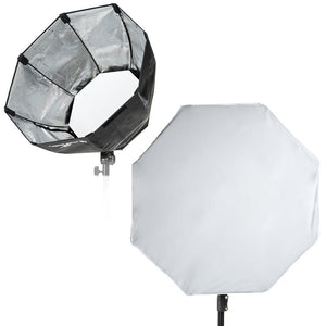 "Professional 24"" Large Octagon Softbox Reflector For Mount Photo Studio Lighting"