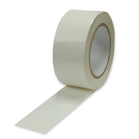 "White Polyethylene coated Studio Photo Duct Tape 2"" 30yards long General Purpose"