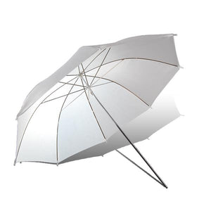 "Lusana Studio Flash Light White Umbrella Reflector Soft Box 52"" Photography U53"