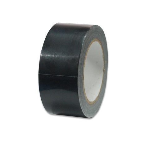 "Black Polyethylene coated   Photo Studio Backdrop Duct Tape 2"" 30Yards One Roll"
