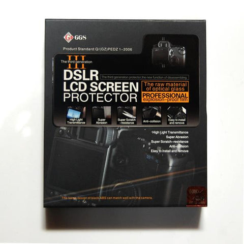 Lusana Studio LCD Glass Pro Screen Protector for Canon 450D/500D DSLR Cameras