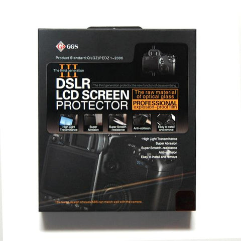 Lusana Studio LCD Glass Pro Screen Protector for Canon T2i, 550D DSLR Cameras
