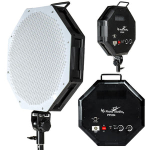 Dimmable Large LED Lighting Octagon Continuous Photography Video Light