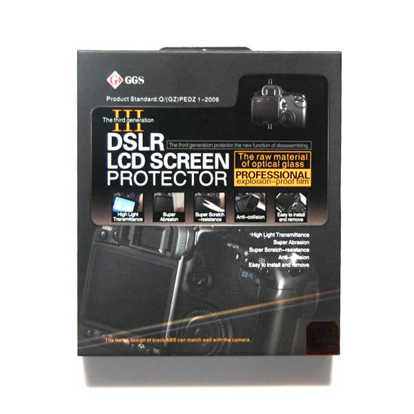 Lusana Studio LCD Glass Pro Screen Protector for Nikon D90 DSLR Cameras CSV41