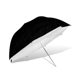 "Lusana Studio Black-White Umbrella Reflector Soft Box 39"" Photography U39"
