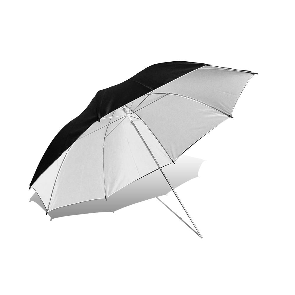 "Lusana Studio Black/White Reflector Photography 40"" Umbrella Camera Speedlite"