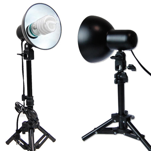 400W Photography Table Top 2pcs Light Bulb For Soft Box Cube Tent Lighting Kit