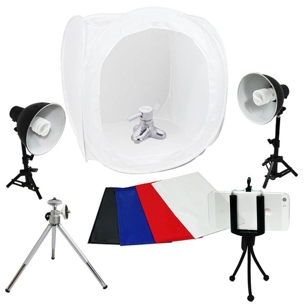 "Tent Shooting-Box  30"" Softbox Studio Kit Set with Light/Tripod"