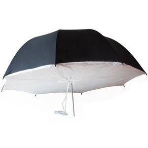 Lusana 43Inch Photography Black/White Umbrella Softbox Brolly Strobe Flash Light