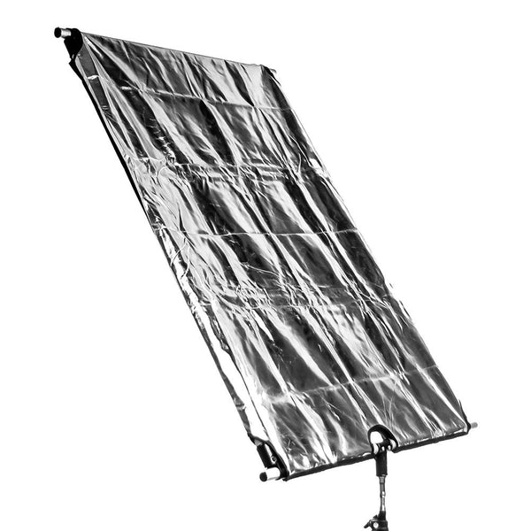 "Lusana Studio Flag Panel Set 24"" x 36""  4-in-1 B / W / G / S Reflector Panel RE5"