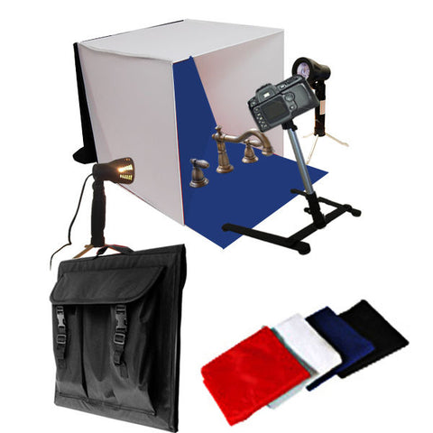 Light Tent Backdrop Kit Carrying Case Cube