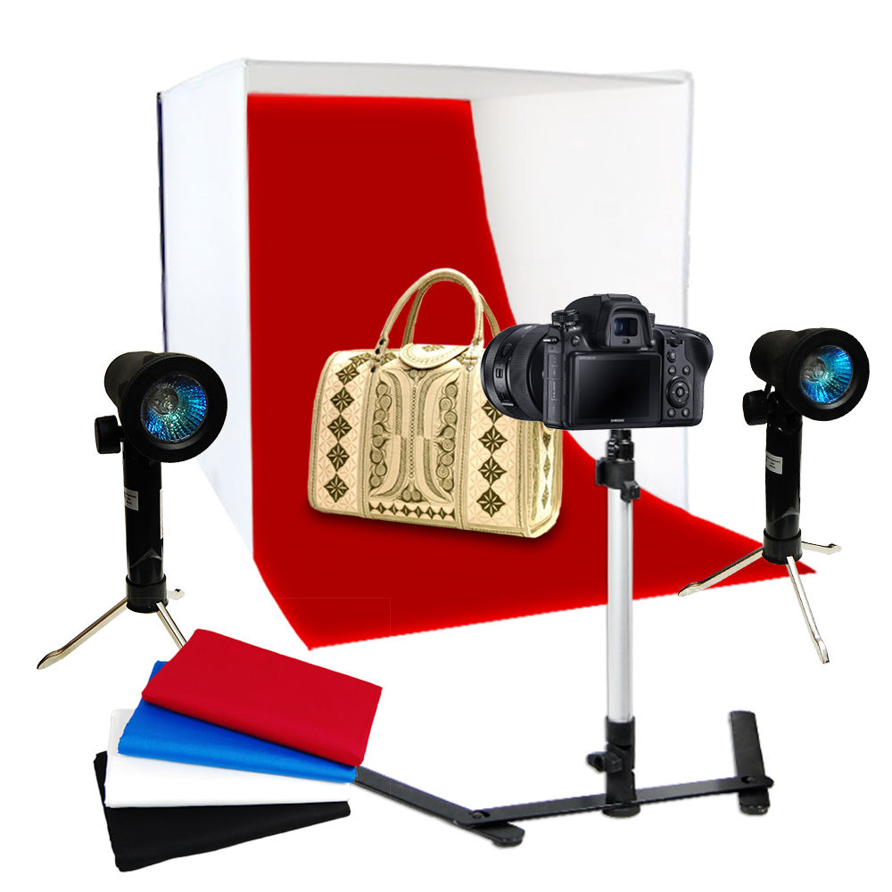 Light Tent Backdrop Kit Cube Lighting Kit In A Box