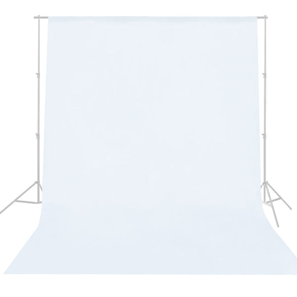 Lusana Studio 10 x 20ft White Muslin Backdrop Photography Background Photo