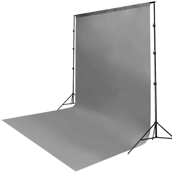6 x 9ft Gray Muslin Backdrop Lusana Studio Photography Background Photo Studio