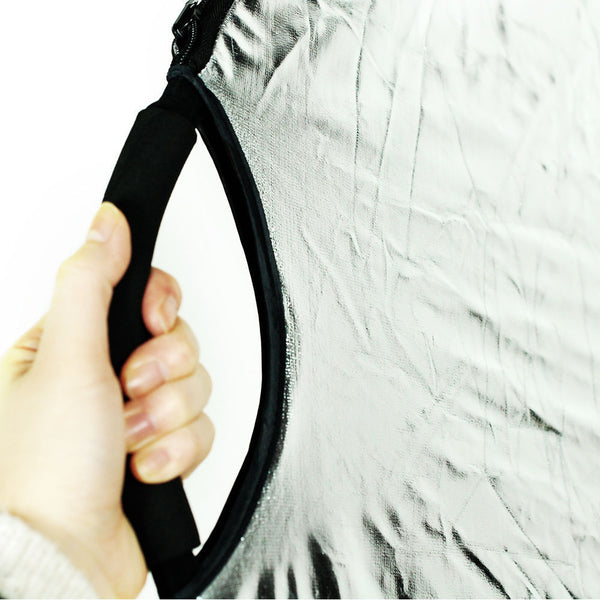 "Handheld OVAL 5-in-1 Multi Collapsible 24"" x 36"" Panel Reflector Photo Studio"