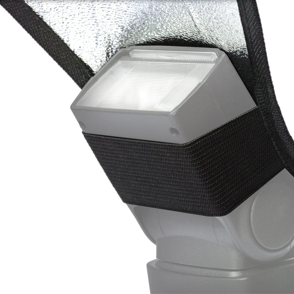 Silver and White Two-Sided Reversible Photography Studio Flash Diffuser