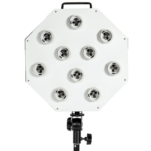 Photo Video Continuous lighting 10 Bulbs Head E26 AC Octagon Light Socket