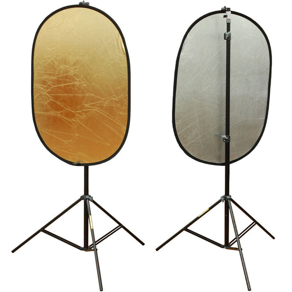 "Lusana Studio 24""x36"" Light Collapsible Panel Reflector Diffuser Photography"