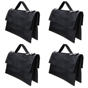 4x Black Counter Balance Sandbags Sand Bag for Photo Studio Light Stand Boom Arm