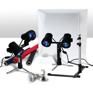 "24"" Table Top Photography Photo Studio Light Tent Kit in a Box"