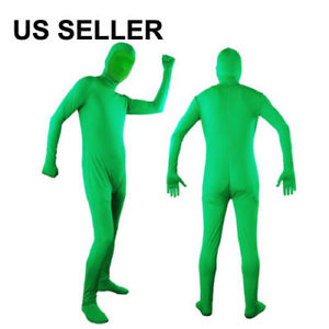 Chromakey Green Screen Body Suit Video Effect Muslin CS01