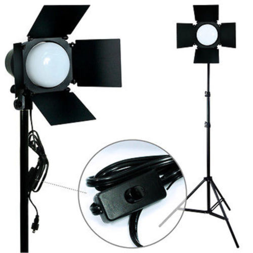 Photography Photo Studio Premium 200watts LED Daylight Barndoor Lighting Kit