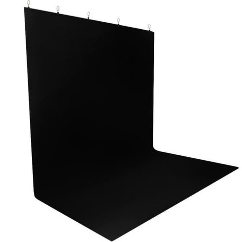 Photography Chromakey Black Screen Muslin Backdrop Lighting Kit