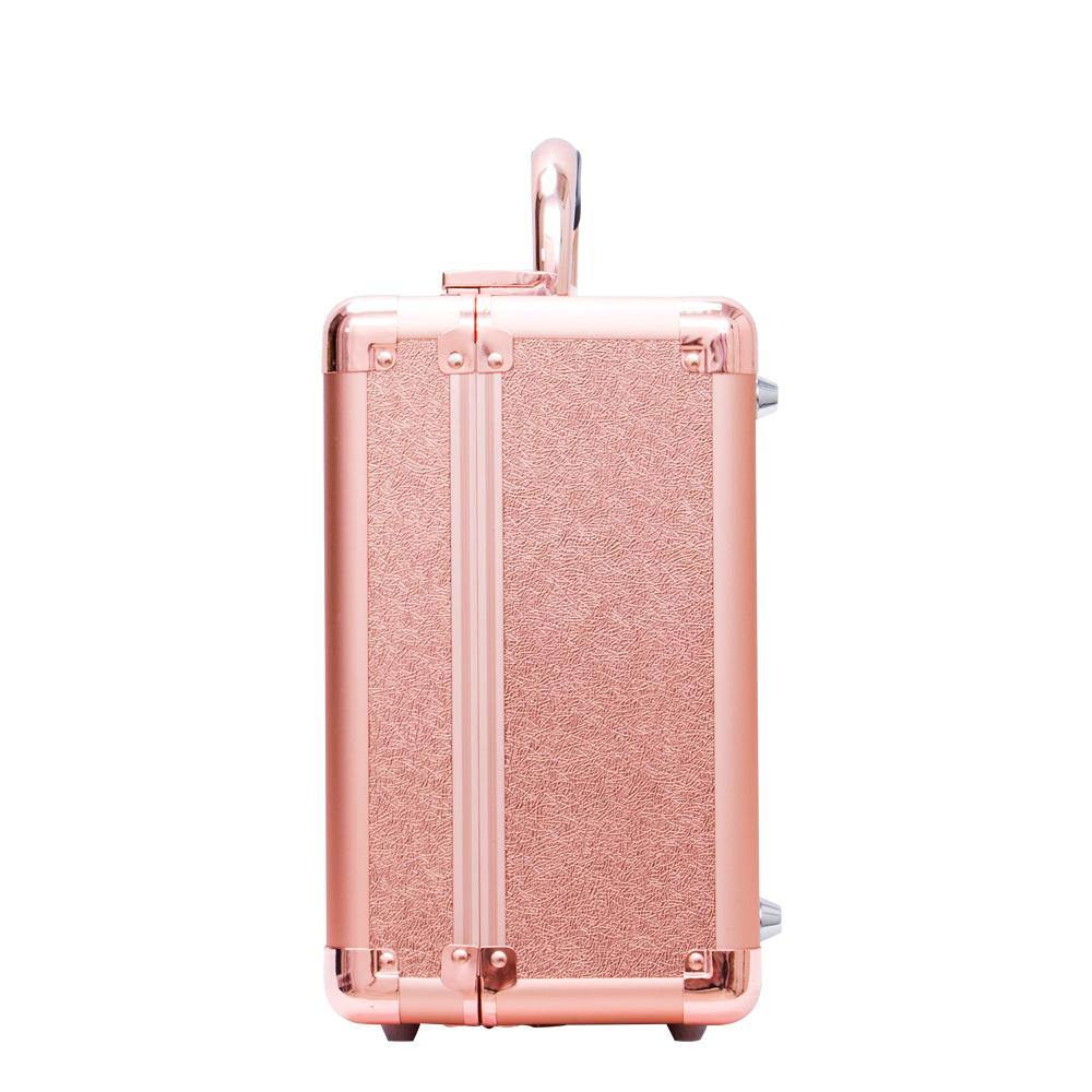 Rose Gold Crush | Mini Diva Makeup Case - DivaDolly