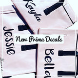 Prima Name Decals - DivaDolly