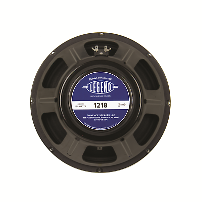 Eminence Legend 1218 8 ohm 12