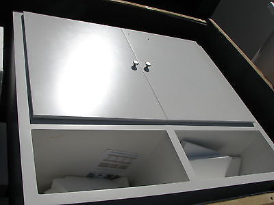 CABINET RETAIL SHOW Exhibits Display WHITE W/DOORS - Pristine SPECIAL SALE!!!
